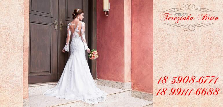 85e82c9a5 Atelier Terezinha Brito Vestidos para Noivas e Festas Venda e Aluguel